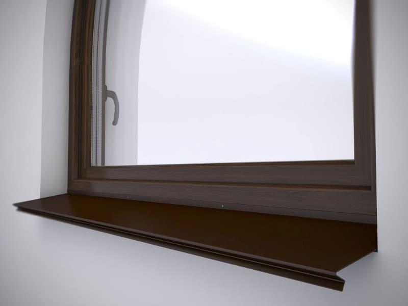 отлив на окно фото