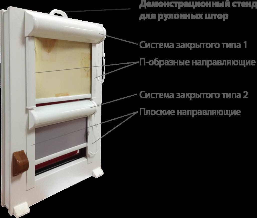 Закрытые системы для рулонных штор