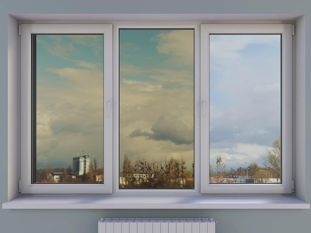 пример тонировки на окнах фото