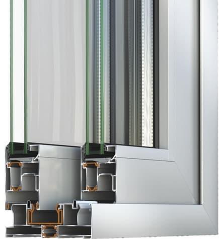 Раздвижная система Alumil S560 1 фото