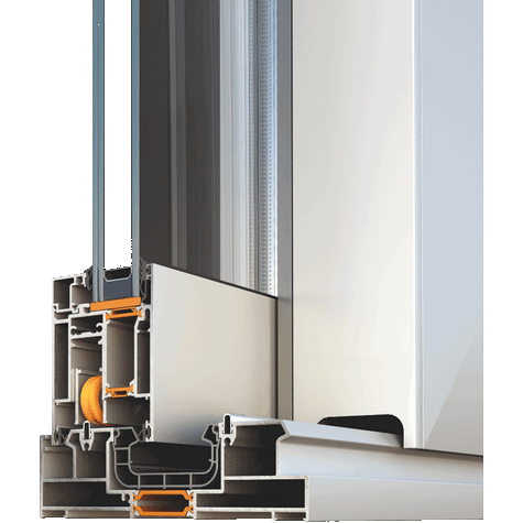 Раздвижная система Alumil S700 фото
