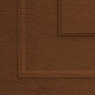 пример покрытия Темный дуб Филенка для воротных систем фото