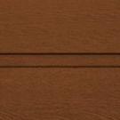 пример покрытия Темный дуб гофр для воротных систем фото