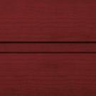 Пример покрытия Вишня гофр для воротных систем фото