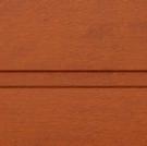 Пример покрытия Золотой дуб гофр для воротных систем фото