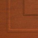 Пример покрытия Золотой Дуб Филенка для воротных систем фото