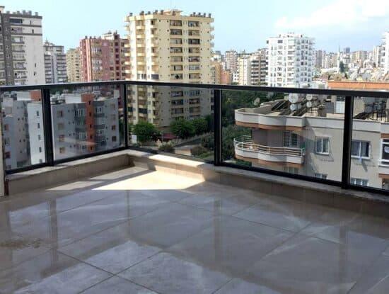 Пример балконного ограждения BALCONMAX фото