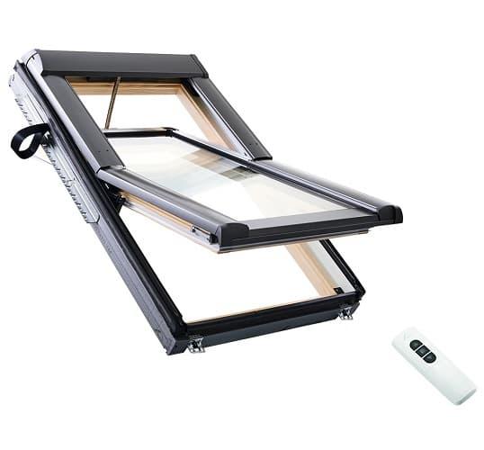 Мансардное окно для коттеджа Roto Designo R6 Rototronic фото