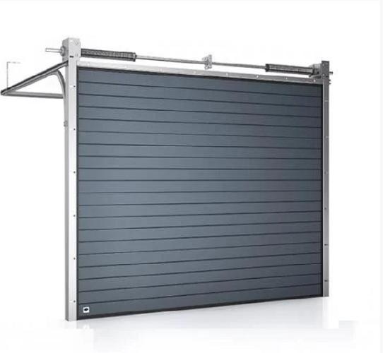 TREND секционные гаражные ворота для коттеджей фото