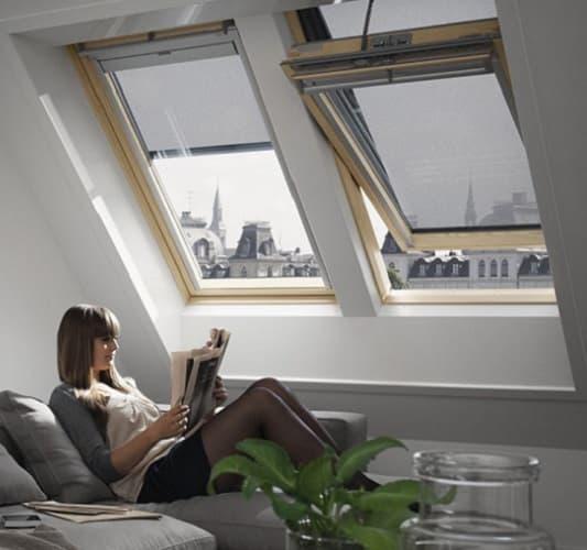 Velux Premium GGU мансардные окна для коттеджей фото