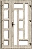 Вариант узора пвх дверей 7