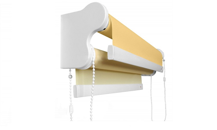 Рулонная штора RM40 Duet2